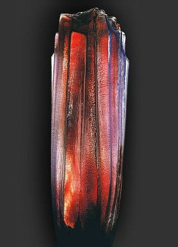William Morris, Standing Stone (Red) 1989, Glass