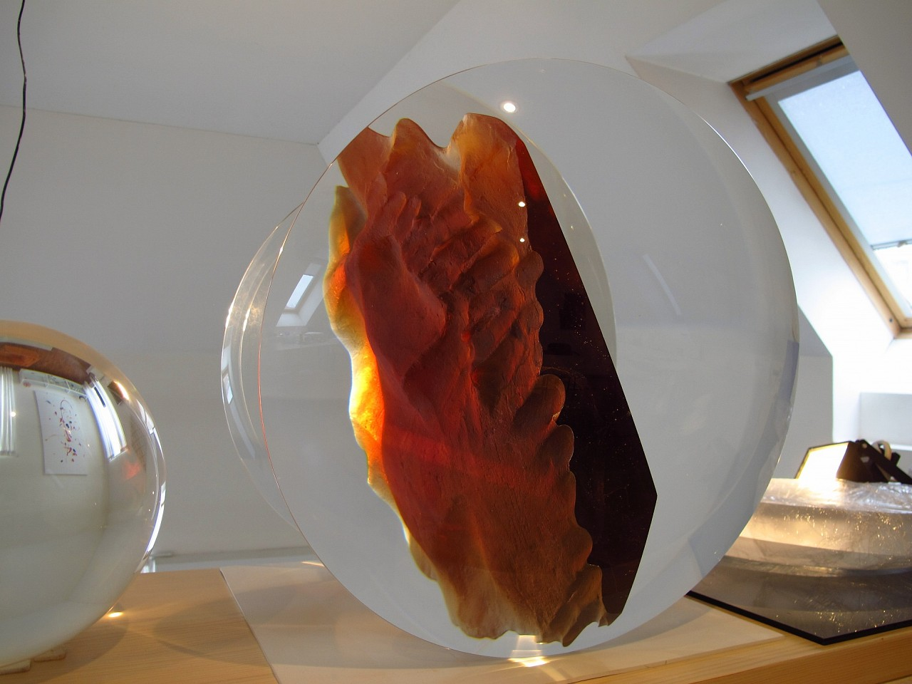 Stepan Pala, Red Wing 2014, Glass